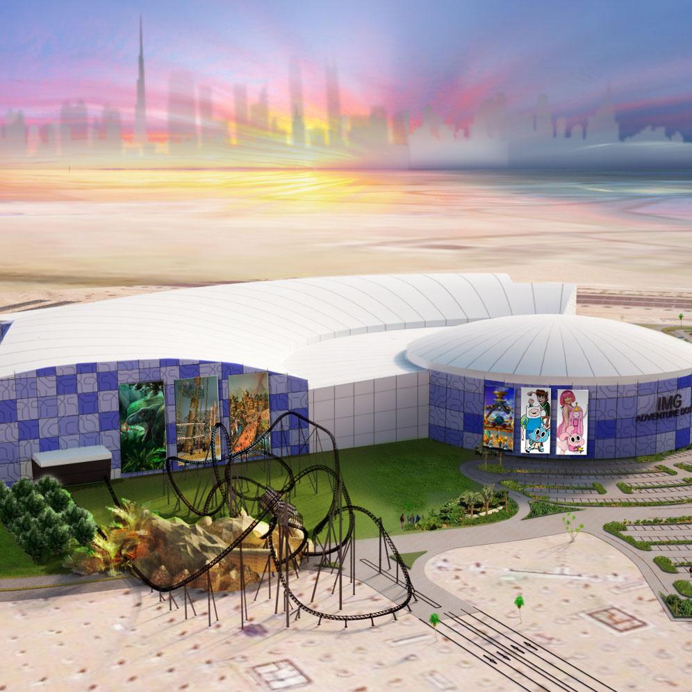 IMG Theme Park City Of Arabia
