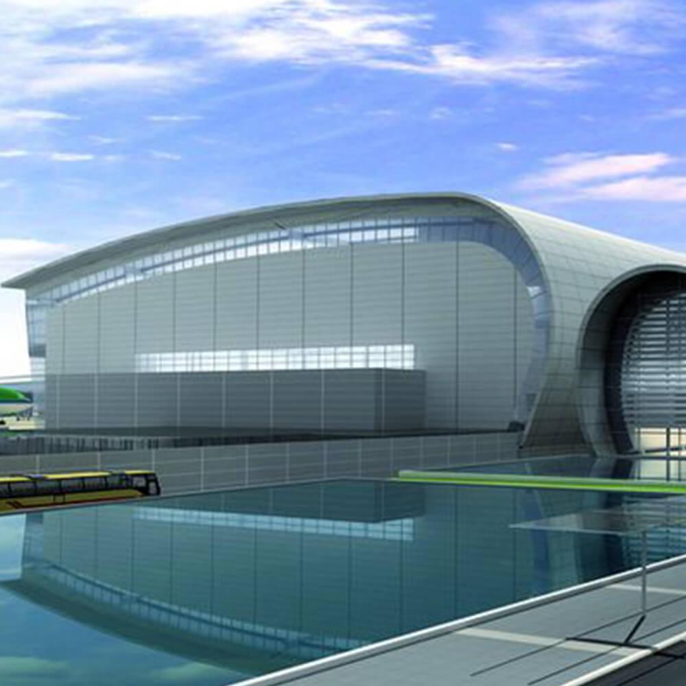 Dublin Airport T2 Extension