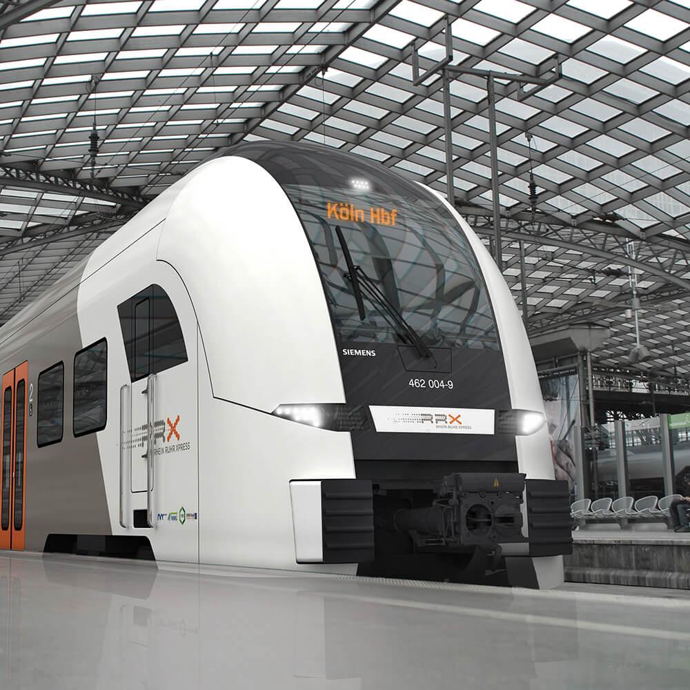 Rhine-Ruhr Express Train