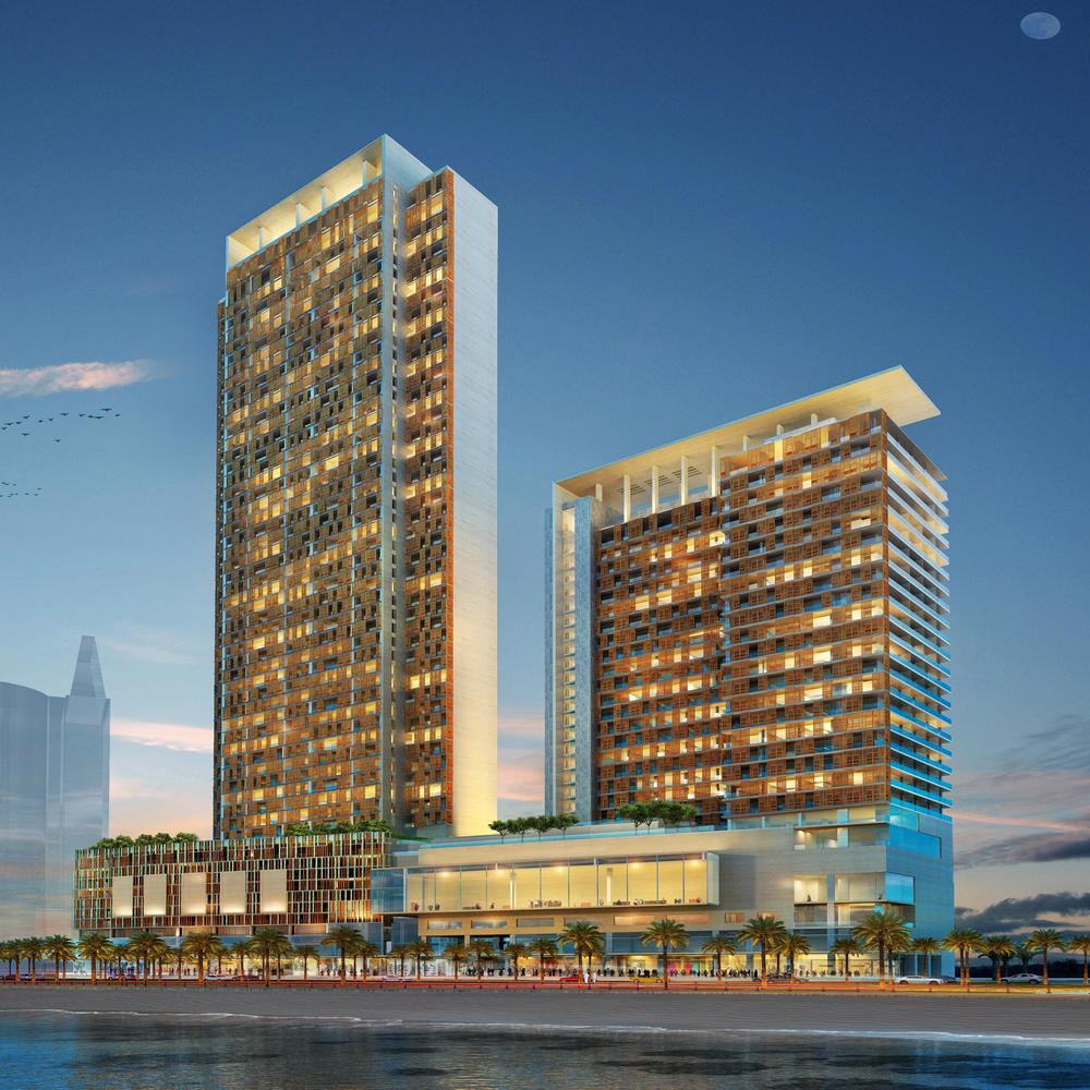 Aqua Raffles Hotel